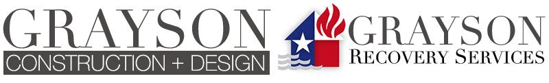 Grayson construction grayson recovery logo
